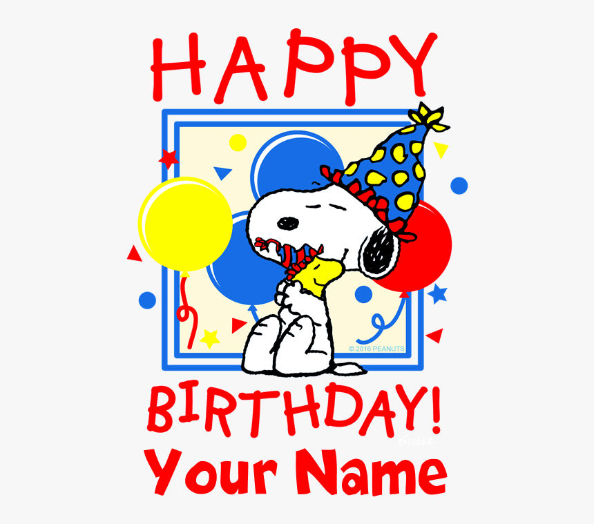 Snoopy Happy Birthday Meme Clipart Png Download Happy 60th Birthday Snoopy Transparent Png Kindpng