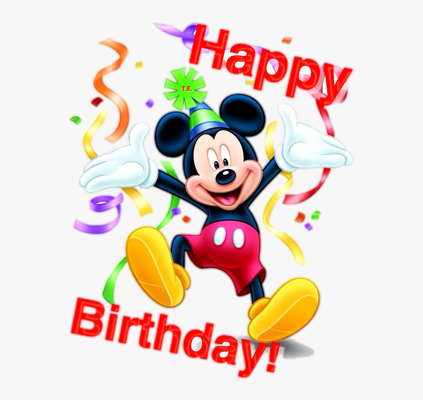 Mickey Mouse Happy Birthday Png Happy Birthday Boy Baby Transparent Png Kindpng