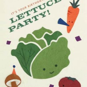 CARD LETTUCE PARTY