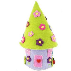 TOY HOUSE FAIRY FELTED ROUND