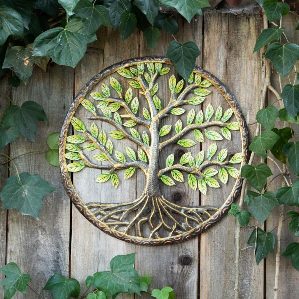 Colorful Tree of Life – Oil Drum Art