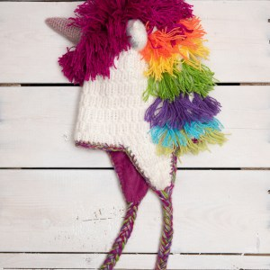 KNIT ADULT ANIMAL HAT