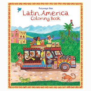BOOK COLORING LATIN AMERICA