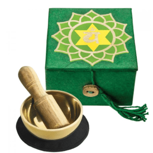 SINGING BOWL WITH BOX – HEART CHAKRA
