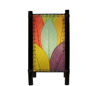 Square Leaf Lamp – Rainbow