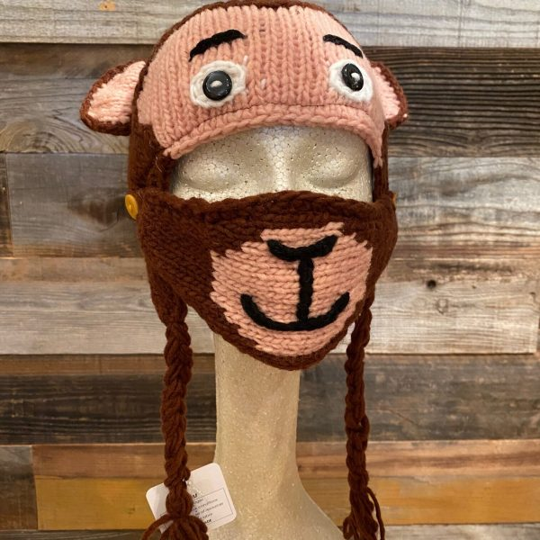MONKEY HAT WITH FACE MASK