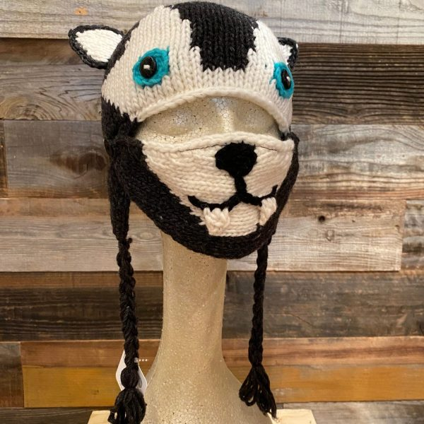 WOLF HAT WITH FACE MASK