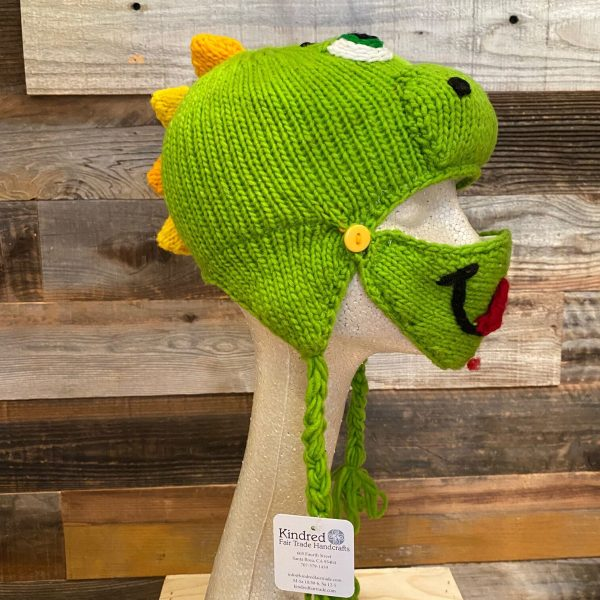 DRAGON HAT WITH FACE MASK