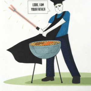 STAR WARS-INSPIRED FATHER'S DAY CARD