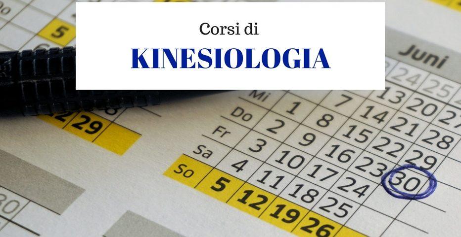 Corsi di Kinesiologia