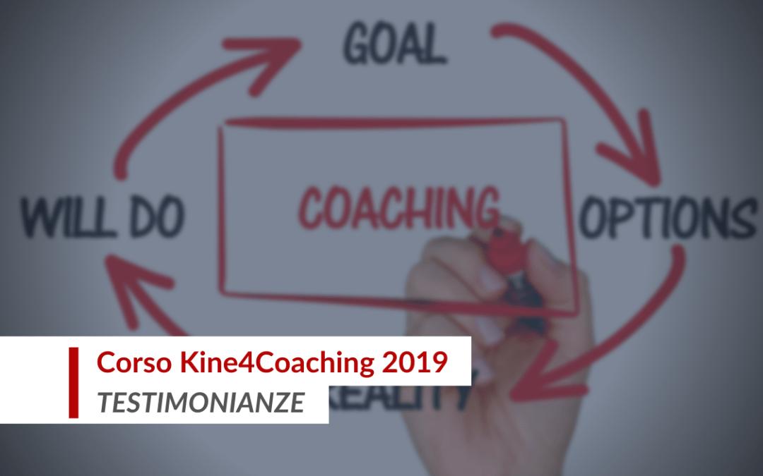 Testimonianze del corso Kine4Coaching 2019