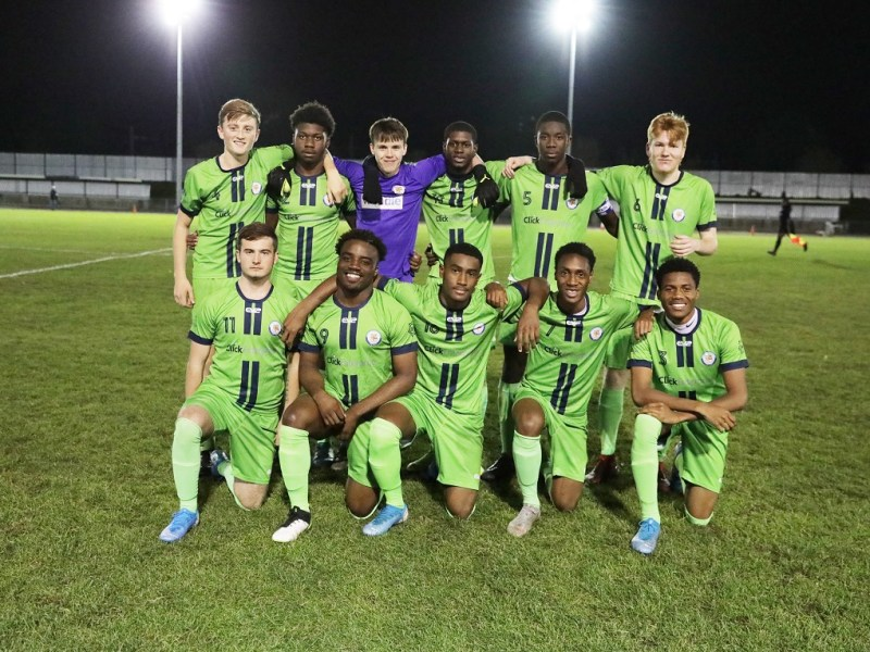 Croydon FC Youth Team Through to 3rd Round of FA Youth Cup