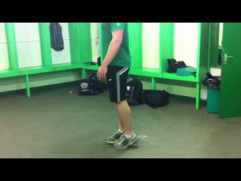 Running Calf Strength Exercise: Ankling Drill