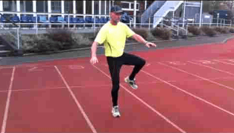 A Simple Dynamic Control Exercise For Runners