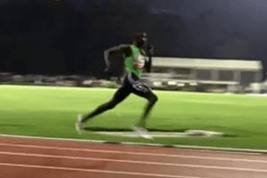 David Rudisha Running Analysis