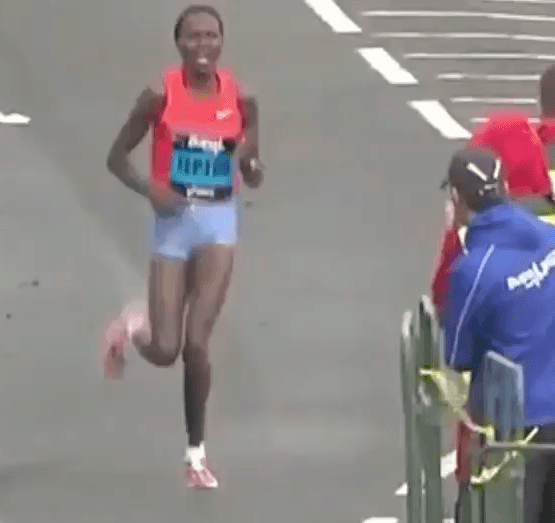 Priscah Jeptoo Running Technique Analysis