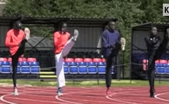 Kenyan Running Drills in Slow Motion: Warm-Up Routine