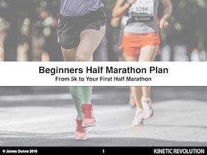Free Beginners Half Marathon Training Plan
