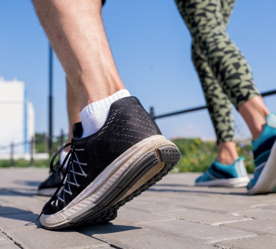 Running with Peroneal Tendonitis