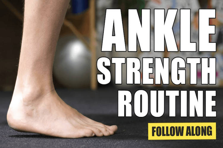 ankle strengthening exercises for runners