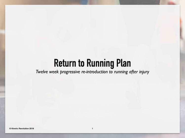 How to start running after a long break
