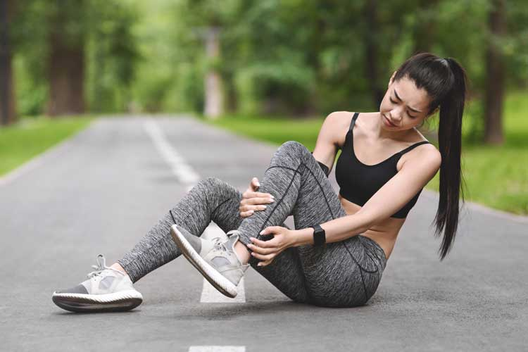 can you run with an ankle sprain?