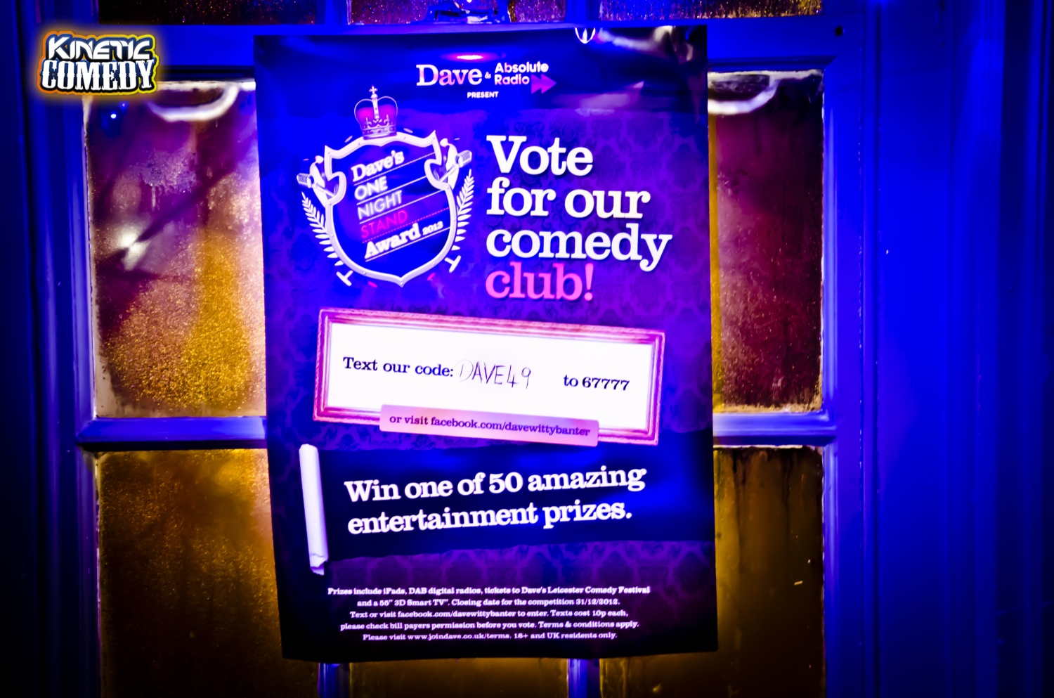 Vote for Kinetic Comedy