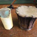 Demonstration of explosive sintering, from Nobel's Explosive Works, Ardeer.