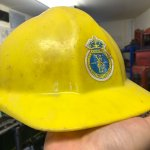 Hard hat from Yarrow Shipbuilders, now part of BAE Systems.