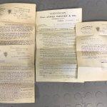 Howden's Paperwork