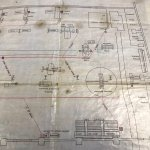 1904 plan of the Boiler Shop at the John Brown yard in Clydebank.