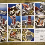 German model coal and hydro power stations. Some assembly needed.