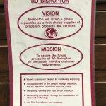 Poster from Royal Ordnance Factory Bishopton.