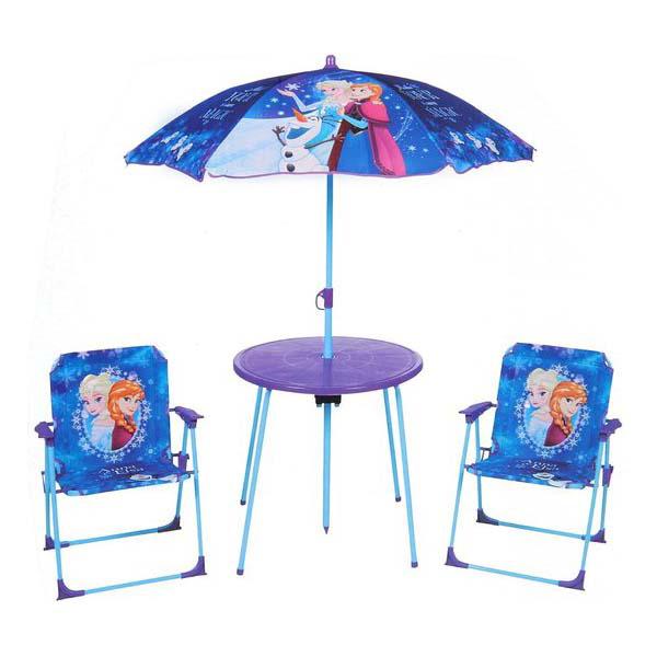 table et chaise de jardin la reine des neiges