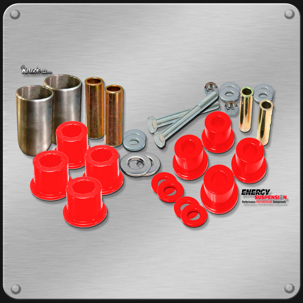 Polyurethane Suspension Bushings >> Polyurethane Control Arm Bushings Kit Diy Welcome To King6fab