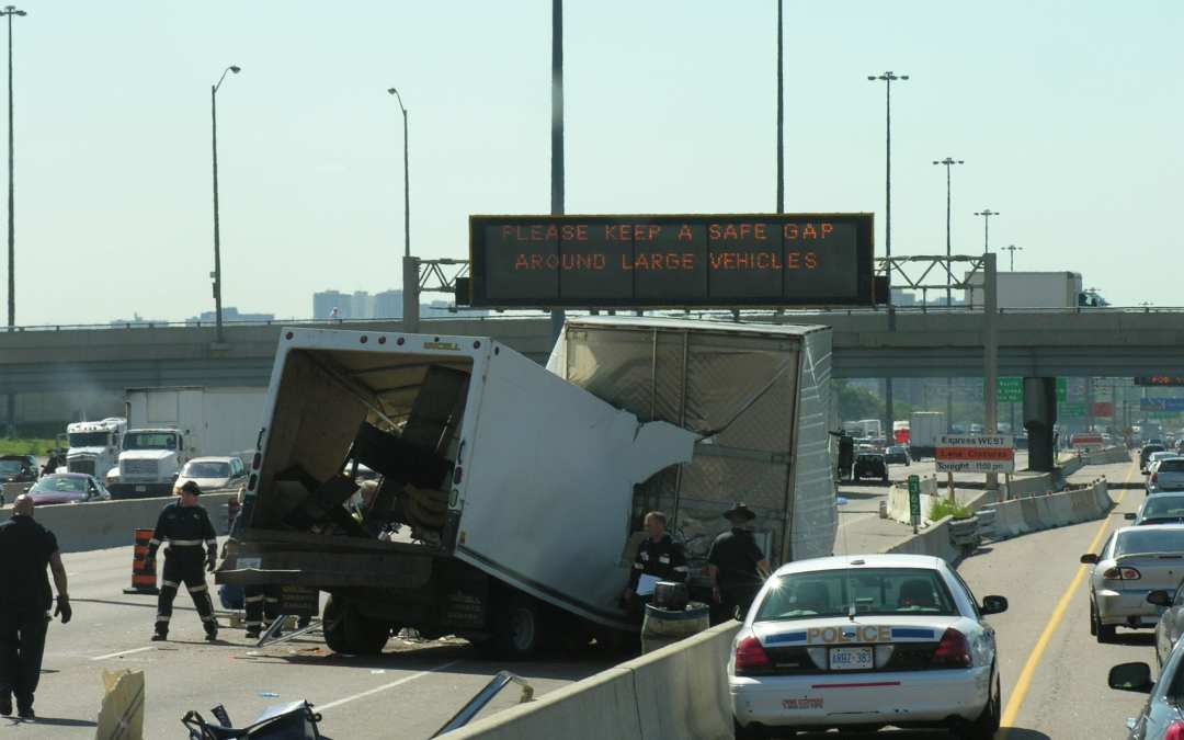 I was hit by a commercial truck – do they pay for my bills?