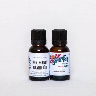 BaconFest Mr Manly Beard Oil made by Mini Moo Delights - $10