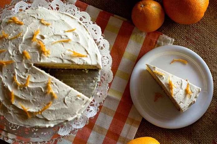 Golden Butter Cake