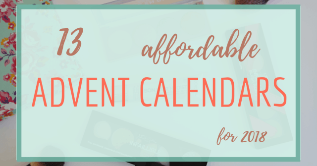 affordable advent calendars