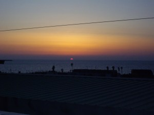 A Tel Aviv sunset