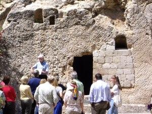 Taken on our 2007 trip: Jesus' tomb