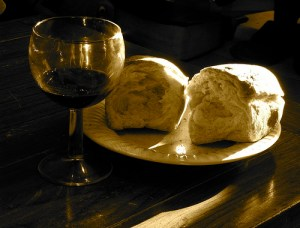 Communion: Partaking in Christ's suffering & new life