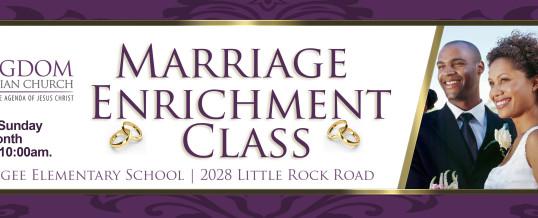Marriage Enrichment Class