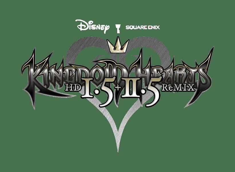 kingdom hearts 15 25 logo