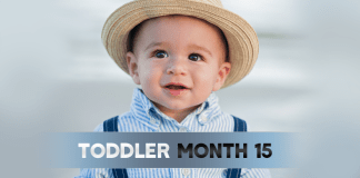 Toddler Month By Month - Month 15