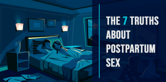 The 7 Truths about Postpartum Sex Cover