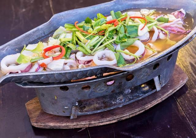 cooked calmari