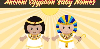 Magical 70 Ancient Egyptian Baby Names