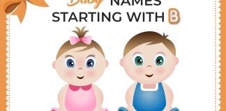 Baby Names That Start With B: The Stylish Names For Your Newborn Baby