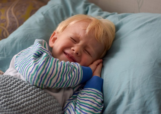 A toddler when nights become nightmares